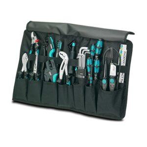 Elektromaterial für Profis: PROFI-Werkzeug-Wickeltasche, 16-teilig Phoenix Contact