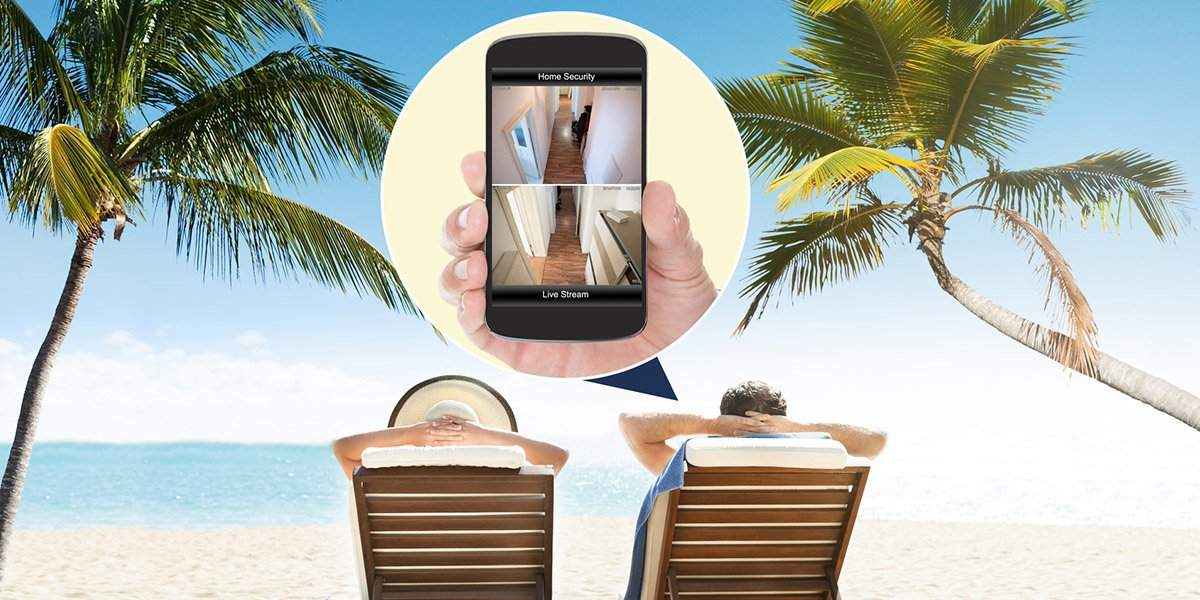 Haussicherheit immer im Blick auch im Urlaub