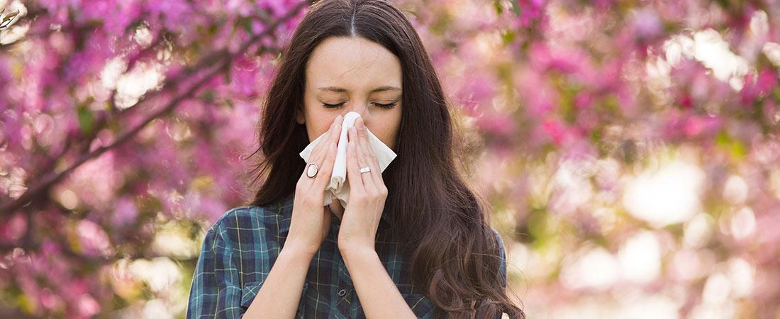 Heuschnupfen - Pollenallergie