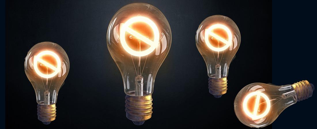 EU -Glühlampenverbot