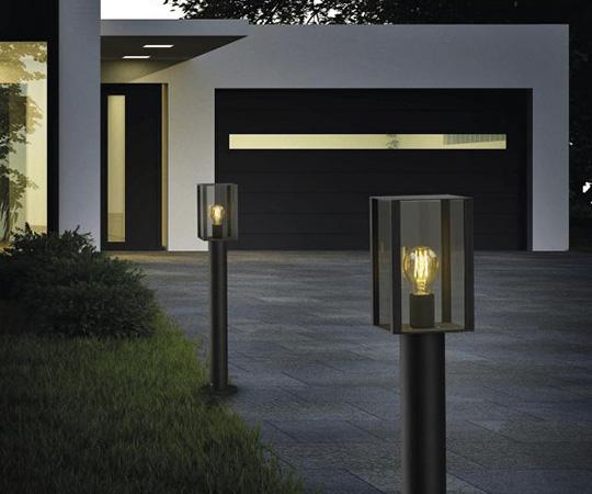 Wegeleuchte mit dekorativem Leuchtmittel von Helestra