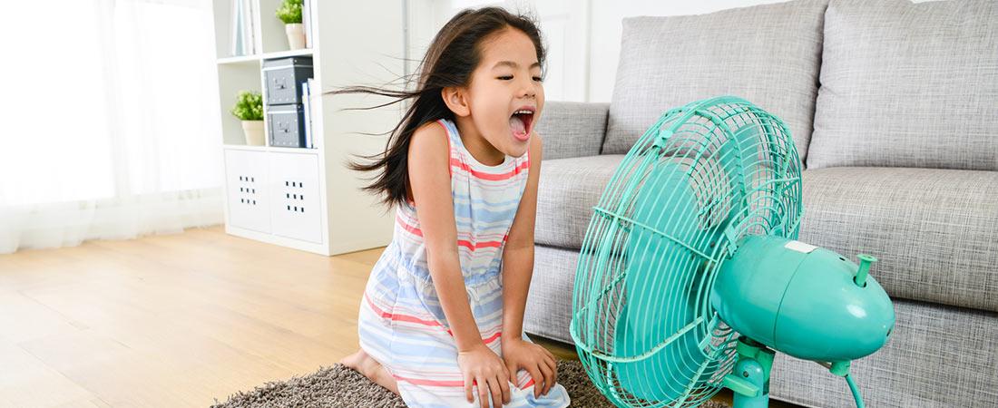 Ventilator zur Abkühlung