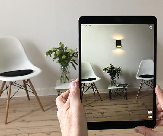 AR App - Beispiel Wohnraum