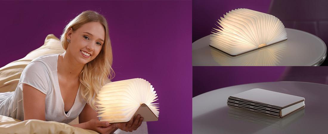 Helestra Memo - leuchtendes Buch