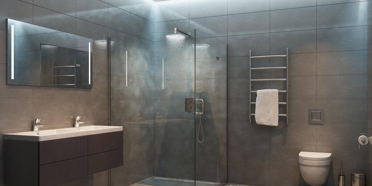 Luftfeuchtigkeit im Badezimmer