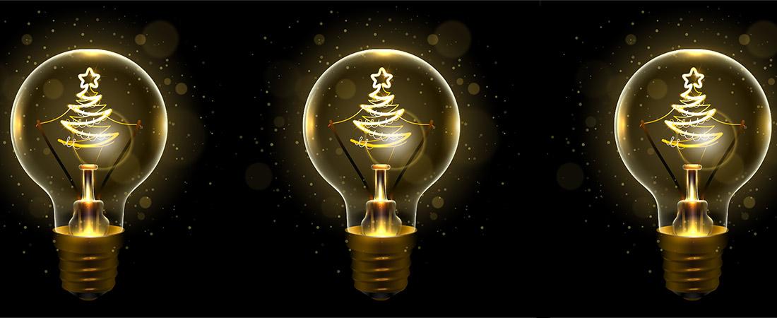 Energieffizienz Weihnachtsbeleuchtung