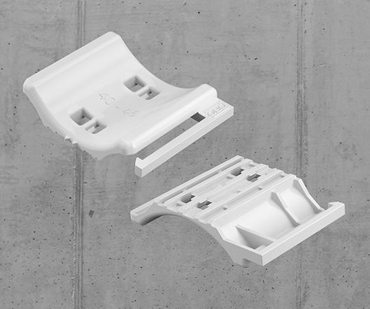 Universal-Gegenwanne, Vorder- und Rückseite