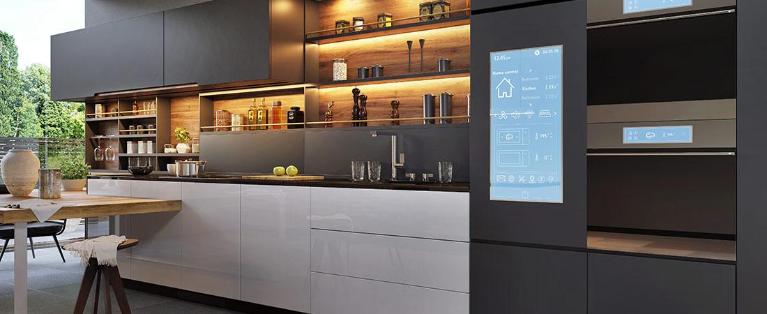 Smarte Elektrogeräte in der Küche