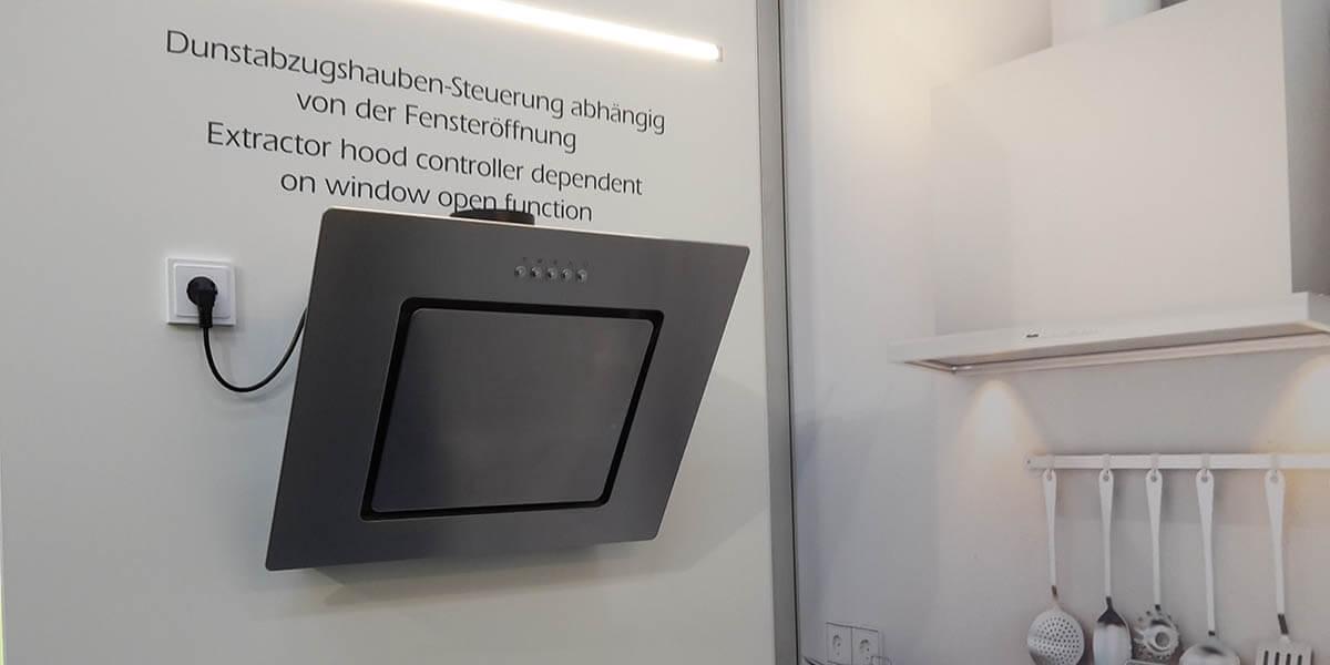Eltako - Dunstabzugssteuerung abhängig von Fensteröffnung