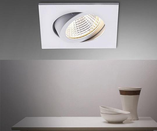 LED-Einbaustrahler mit dim2warm von Brumberg