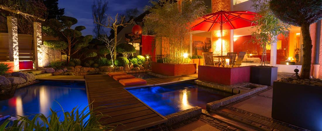 Ambientebeleuchtung - Außenleuchten Garten