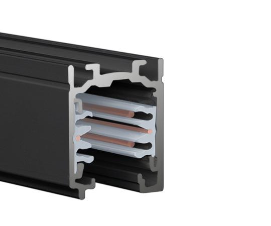 LTS Stromschiene ONETRACK schwarz - Anbau
