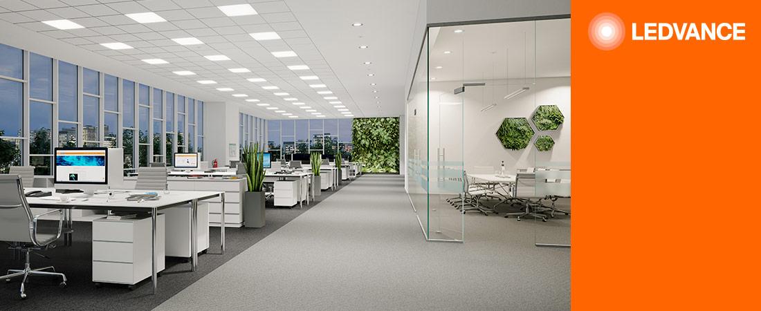 Bürobeleuchtung - Panel Leuchten