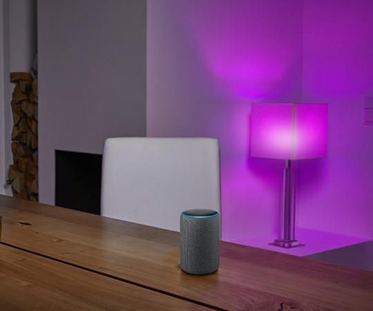 intelligente Beleuchtung im Wohnraum