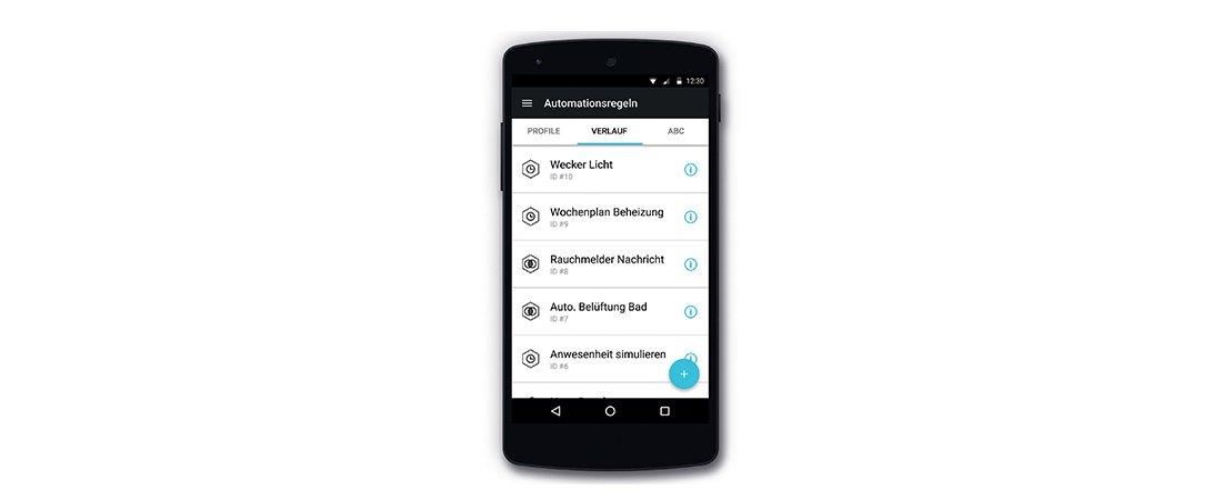 MAICO automatisation control app