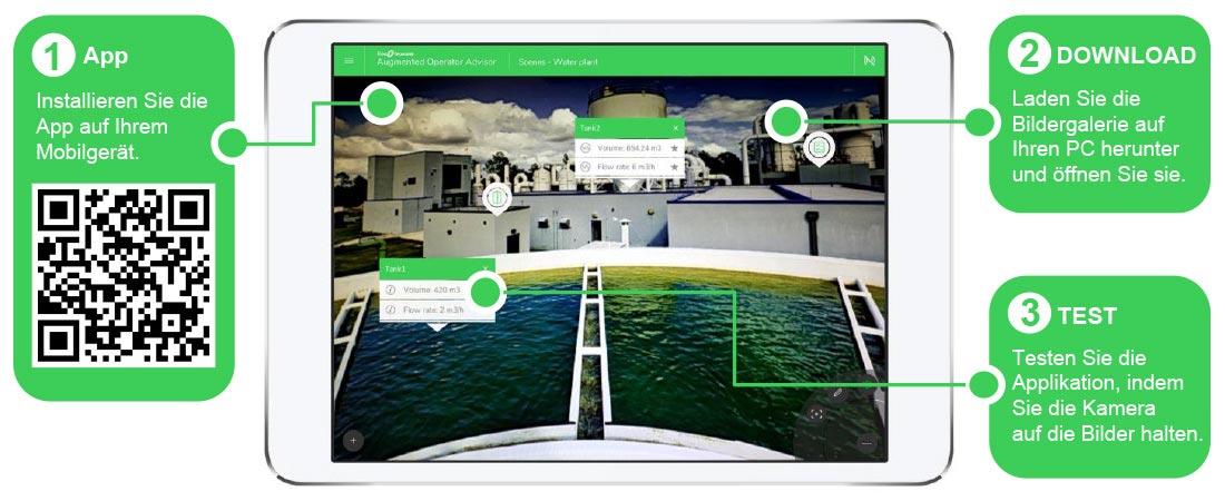 Applikation EcoStruxure Augmented Operator Advisor