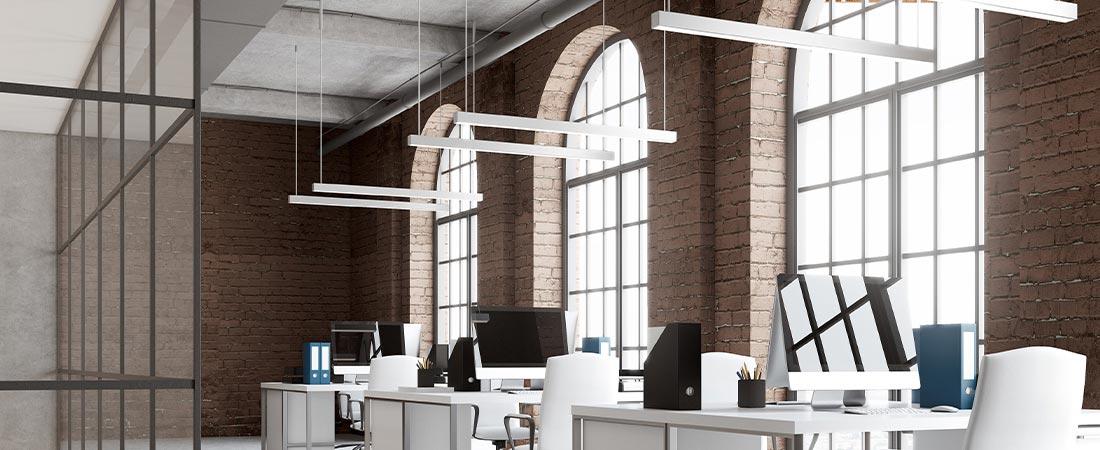 BIRO40 Lichtkanalsystem im Büro