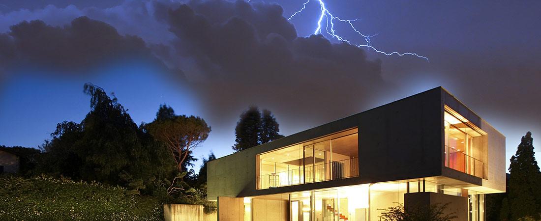 Überspannungsschutz im Wohnungsbau