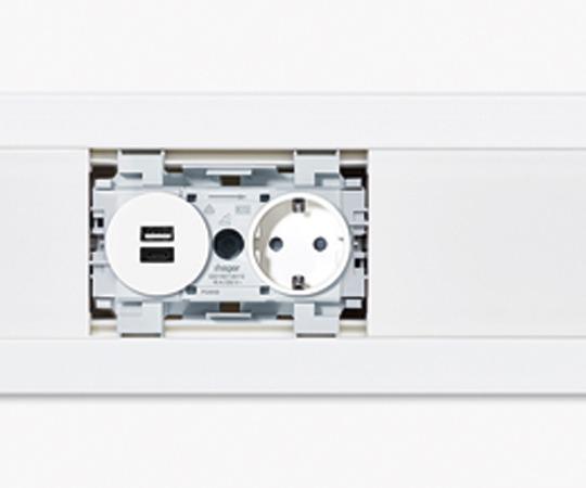 USB-Kanalsteckdose