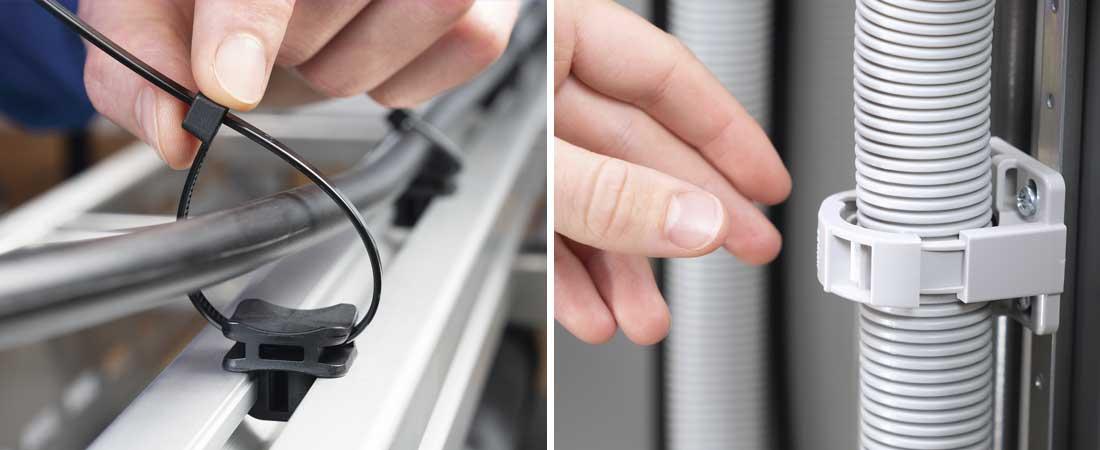WS Wellrohre- und Halter sowie Kabelbindersockel ACFM