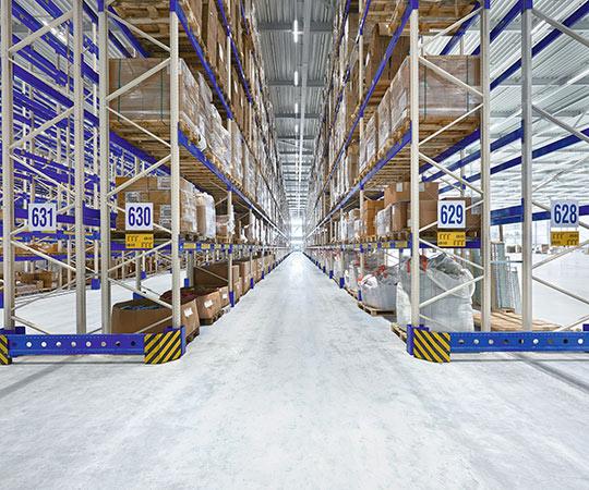 E-Line Next LED - Logistik