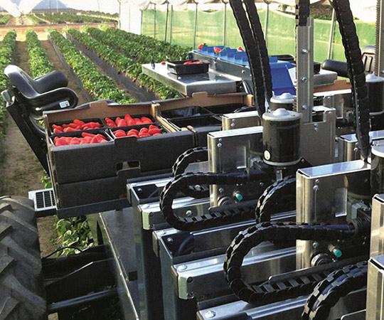 AGROBOT Beerenpflückmaschine