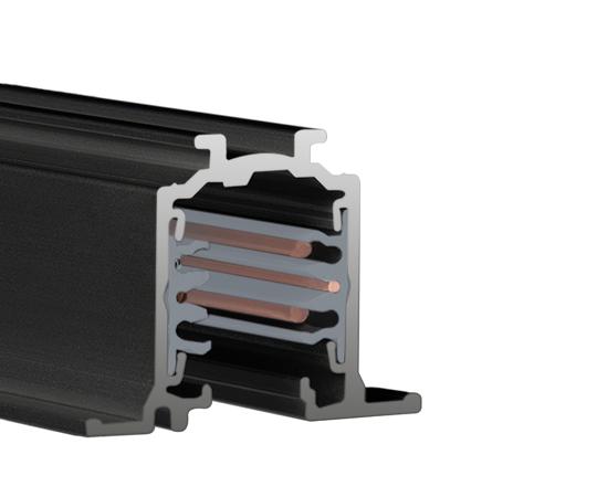 LTS Stromschiene ONETRACK schwarz - Einbau