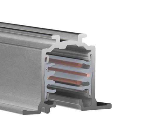 LTS Stromschiene ONETRACK grau - Einbau