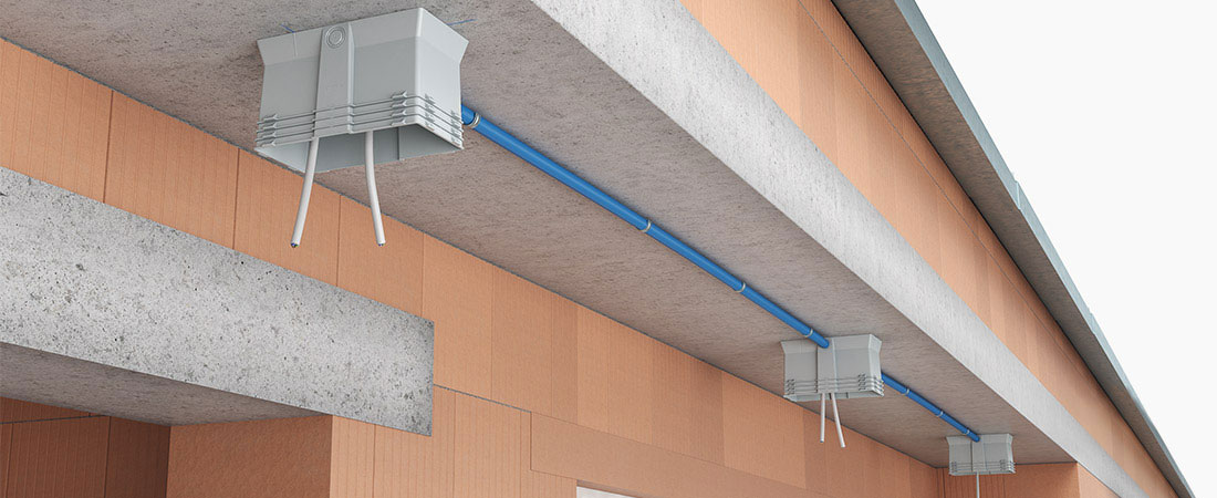ThermoX® Iso + Einbaugehäuse für Außendämmung