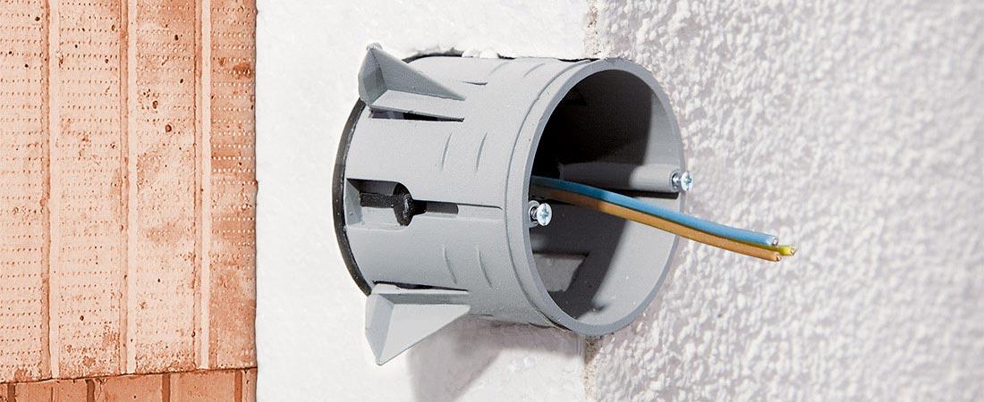 Geräte-Verbindungsdose ECON® Styro 55