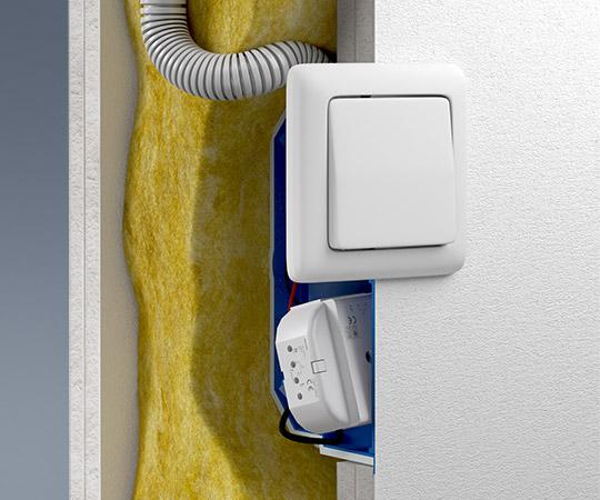 Luft- und rauchdichter Verschluss von Installationsrohren