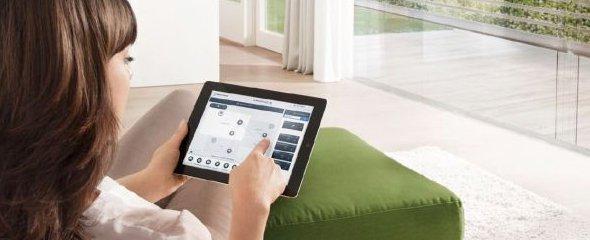 free@home - Steuerung mit dem Tablet