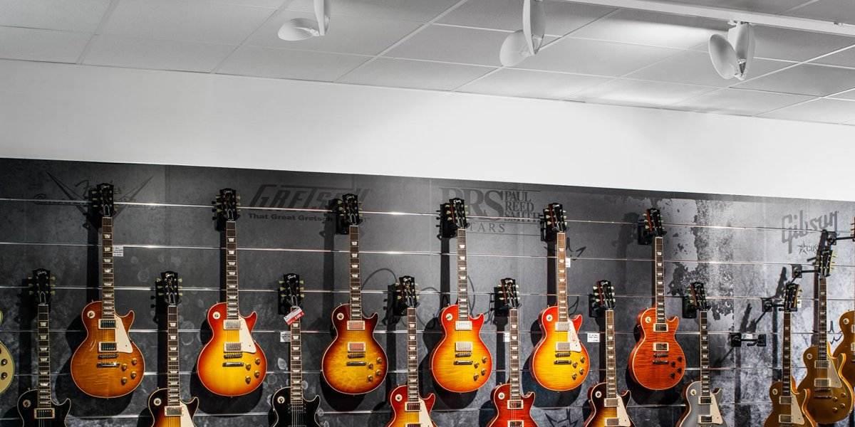 LiveLink Anwendungsbeispiel im Gitarrenshop