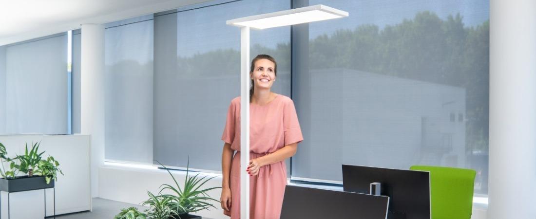 Bürobeleuchtung - Standleuchte