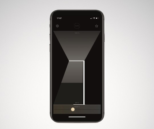 Lichtsteuerung per App