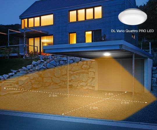 Deckenleuchte Vario Quattro PRO LED