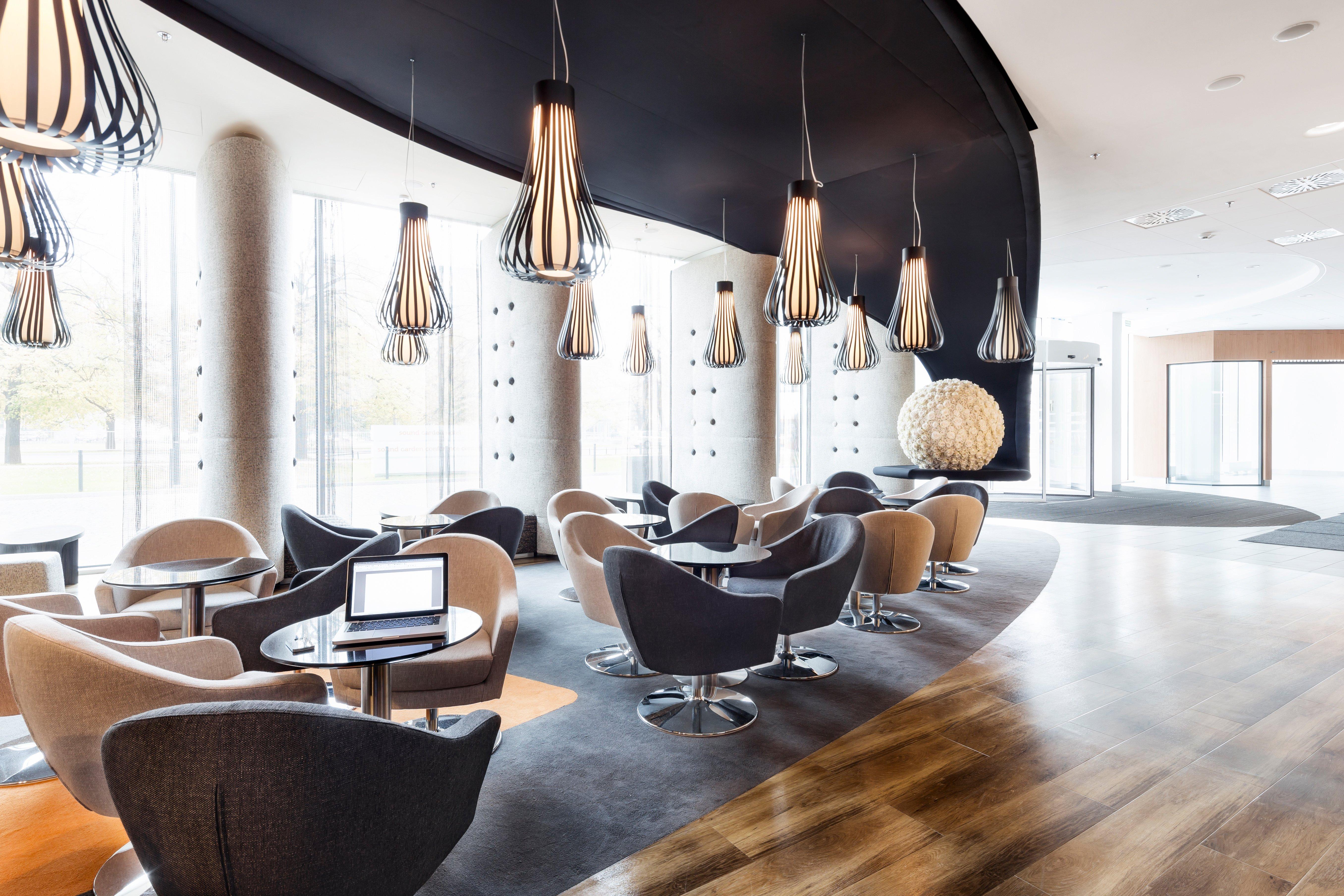 Loungebeleuchtung Hotel