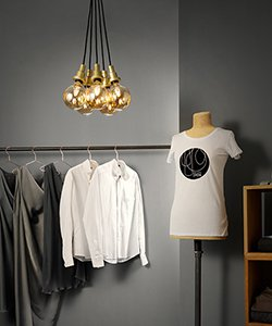 Osram Shop Edition 1906 PenduLum Gold mit LED Globe