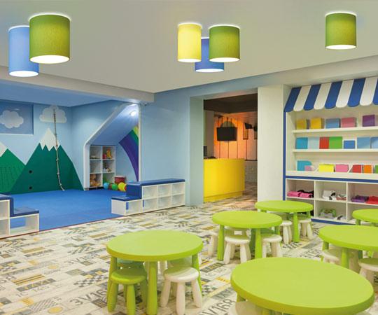 Toledo Flatliner Deckenanbauleuchten im Kinderbereich