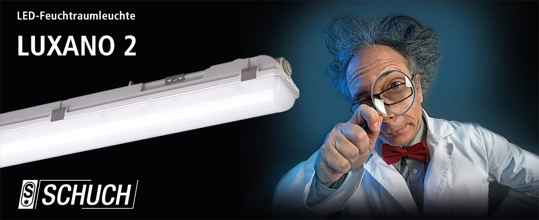 LED-Feuchtraumleuchte LUXANO 2
